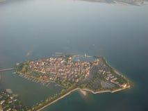 Lindau от неба Стоковое фото RF