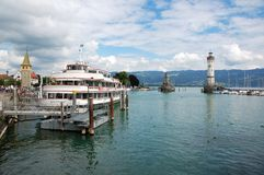 Lindau. Summer pictures of the bavarian island Lindau (Bodensee Stock Photography