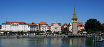 Lindau, Bodensee lake, Germany Royalty Free Stock Photos