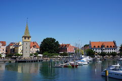 Lindau, Bodensee lake, Germany. The town of Lindau on the Bodensee lake in Bavaria, Germany Stock Photography