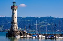 Lindau Germany lake constance View. Very much one of the main tourist attractions and points of interest in the area Stock Photography