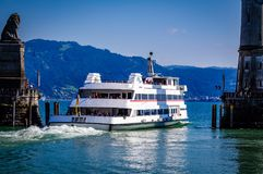 Lindau Germany lake constance View. Very much one of the main tourist attractions and points of interest in the area Royalty Free Stock Photography