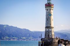 Lindau Germany lake constance View. Very much one of the main tourist attractions and points of interest in the area Royalty Free Stock Photos