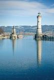 Lindau harbor Royalty Free Stock Photography