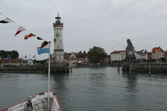 Lindau harbor Stock Image