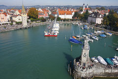 Lindau harbour #2 Stock Photos