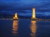 Lindau Harbour Stock Photo