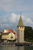 Lindau harbour view Stock Photos
