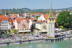 Lindau-Insel, Deutschland Stockbild