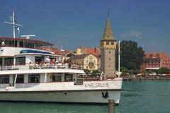 Lindau, lago Constance, Germania Fotografie Stock