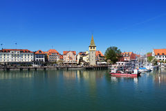Lindau at Lake Constance in Germany Stock Photo
