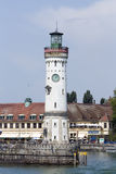 Lindau lighthouse Stock Image