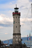 Lindau Lighthouse Royalty Free Stock Photos