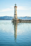 Lindau lighthouse Stock Photography