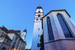 Lindau Munster. Before the sunset. Lindau, Bavaria, Germany Royalty Free Stock Image