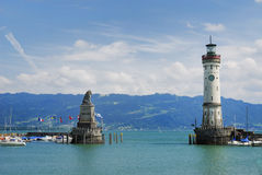 lindau port Obrazy Stock