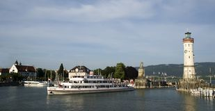 lindau port Obraz Royalty Free