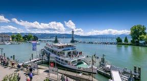 Lindau przy Jeziornym Constance, Niemcy Obraz Royalty Free
