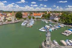 Lindau przy Jeziornym Constance, Niemcy Zdjęcie Stock