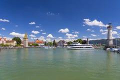 Lindau przy Jeziornym Constance, Niemcy Zdjęcia Royalty Free