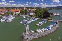Lindau przy Jeziornym Constance, Niemcy Obraz Stock