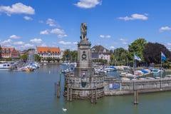 Lindau przy Jeziornym Constance, Niemcy Obrazy Royalty Free