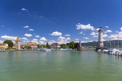 Lindau przy Jeziornym Constance, Niemcy Fotografia Royalty Free