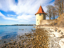 Lindau Tower. An image of a tower at Lindau Germany Stock Images