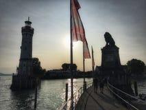 Lindau Tyskland Arkivfoton