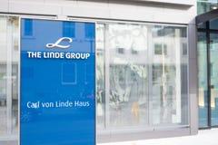 Linde Group Fotografía de archivo libre de regalías