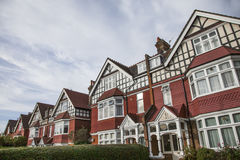 A line of houses, London. Stock Photography