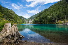 lindeman的湖 图库摄影