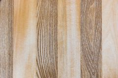 Linden and Ash wood texture A fragment of a wooden panel hardwood. Zebra wood Stock Photo