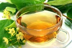 Linden flower tea Stock Photo