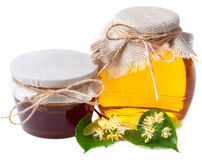 Linden honey Stock Image