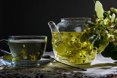 Linden tea Royalty Free Stock Images