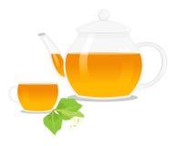 The linden tea Stock Photos