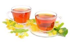 Linden Tea In Cups Royalty Free Stock Photos