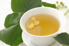 Linden tea Royalty Free Stock Photo