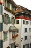 Lindenhof  quarter in Zurich. Switzerland Stock Photos