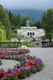 Linderhof城堡,德国 库存照片
