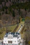 Linderhof城堡 库存照片