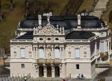 Linderhof城堡 免版税图库摄影