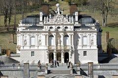 linderhof宫殿 图库摄影