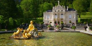 linderhof παλάτι Στοκ Εικόνες