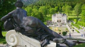 linderhof παλάτι Στοκ εικόνες με δικαίωμα ελεύθερης χρήσης
