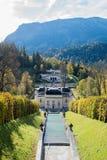 linderhof замока стоковые изображения