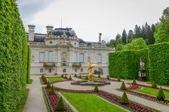 LINDERHOF, ALEMANIA - el palacio de Linderhof es un Schloss en Alemania Foto de archivo libre de regalías