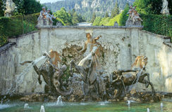 Linderhof castle Stock Photos