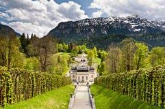 Linderhof Castle. South Bavaria, Germany Stock Images